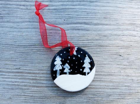 Keramické Vánoční ozdoby 28