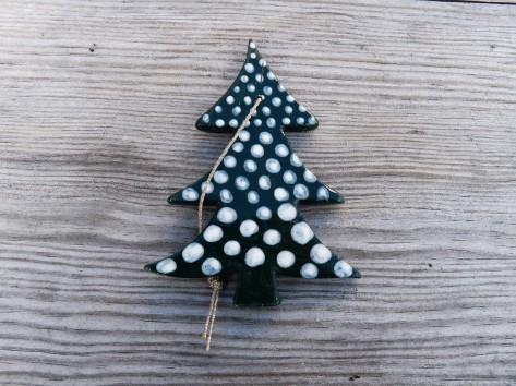 Keramické Vánoční ozdoby 33