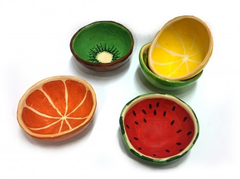 Miska na ovoce různé druhy XL