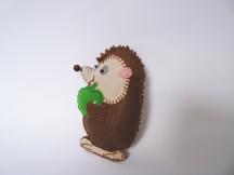 Látkový ježek 1