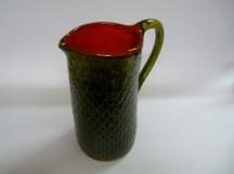 Džbánek - zelenočervený