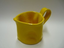 Hrnek střední žlutý