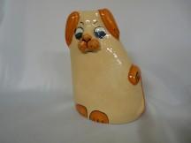 Kasička pes